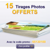 EXTRAFILM : 15 tirages photo gratuits !