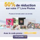 EXTRAFILM : -50% sur votre premier livre photo !