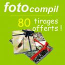 FOTOCOMPIL : 80 tirages photo gratuits pour toute première commande