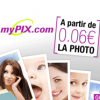 MYPIX : Pack photo ECO à 6 centimes d'euro la photo