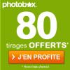 PHOTOBOX : Offre de bienvenue de 80 tirages photo gratuits