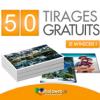 PHOTOWEB : Offre de bienvenue avec 50 tirages photo gratuits