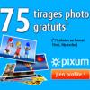 PIXUM : 75 tirages photo Premium gratuits