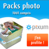PIXUM : Les packs photo tout compris