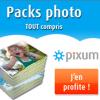 PIXUM : Les packs photo tout compris