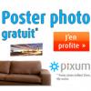 PIXUM : Un poster brillant gratuit