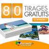 PHOTOWEB : Offre de Bienvenue de 80 tirages photo gratuits