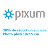PIXUM : 30% de réduction sur votre photo plexi
