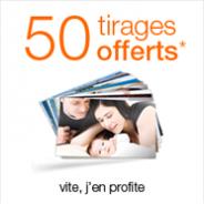 SERVICE PHOTO ORANGE : 50 tirages photo offerts pour toute première commande