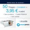 SMARTPHOTO : 50 Tirages Photos Premium pour 3,95 euros TOUT COMPRIS