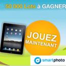 SMARTPHOTO : Grand jeu concours Photo «Jackpot Gagnant»