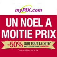 MYPIX : 50% de réduction sur tout le site