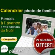 PIKLIO : Votre 2ème calendrier gratuit !