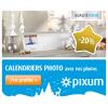 PIXUM : 20% de réduction sur tous les calendriers photo