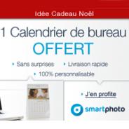 SMARTPHOTO : Un calendrier photo de bureau offert