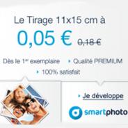 SMARTPHOTO : Le tirage PREMIUM à seulement 5 centimes d'euros