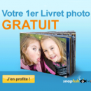SNAPFISH : Un livret photo gratuit