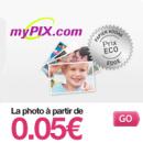 MYPIX : Le tirage photo à partir de 5 centimes d'euros seulement