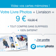 SMARTPHOTO : livre photos enjoy + livraison pour 9 euros