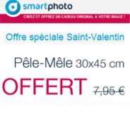 SMARTPHOTO : Votre pêle-mêle offert pour la Saint Valentin