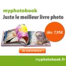 MYPHOTOBOOK : Réduction de 10 euros sur votre livre photo pour toute première commande
