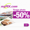 MYPIX : Réduction de 50% sur le tirage photo