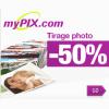 MYPIX : Réduction de 50% sur le tirage photo