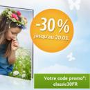 MYPHOTOBOOK : Remise de 30% pour toute commande de 2 livres photo «classic»