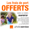 SERVICE PHOTO ORANGE : Frais de port gratuits !
