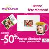 myPIX : Jusqu'à 50 de réduction pour la Fête des Mères !