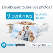 SMARTPHOTO : Le tirage photo à seulement 9 centimes d'euros