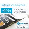 SMARTPHOTO : 60% de réduction sur les livres photos Inspire ou Create !