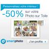 SMARTPHOTO : 50% de réduction sur votre Photo sur Toile !