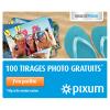 PIXUM : Super offre de 100 tirages photo gratuits !
