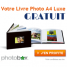 PHOTOBOX : Un Livre Photo Luxe gratuit !
