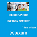 PIXUM : Frais de port offerts dès 5 euros d'achat