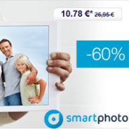 60% réduction sur le Livre Photo L de SMARTPHOTO