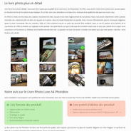 [ TEST ] Livre Photo Luxe (A4) de Photobox