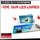 FNAC : 10 euros de remise sur votre livre photo