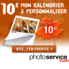 Le calendrier photo mural à seulement 10 euros chez PhotoService