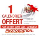 PHOTOSTATION offre 1 calendrier pour 2 calendriers achetés !