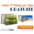 PHOTOBOX : Photo sur Toile gratuite !