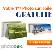 PHOTOBOX : Photo sur Toile gratuite !