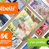 5€ de réduction sur tous les produits photo