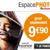 Espace Photo Auchan : Votre livre photo à partir de 9,90€