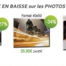 Baisse générale des prix des photos sur toile myPIX