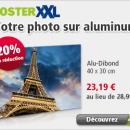posterXXL : -20% sur votre photo sur Alu-Dibond !