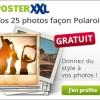 posterXXL : 25 photos polaroid OFFERTES !