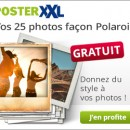 posterXXL : 25 photos polaroid OFFERTES !