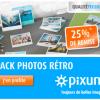 25% de remise sur les photos rétro façon polaroid !